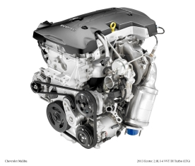 New 2.0L Turbo Engine Gives the 2013 Chevrolet Malibu Enhanced Performance  and RefinementChevrolet Pressroom - Chevy