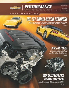 The all-new 2015 Chevrolet Performance catalog