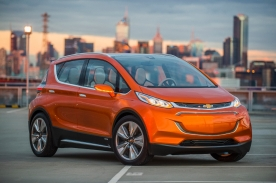 2015 Chevrolet Bolt EV Concept all electric vehicle – front exterior