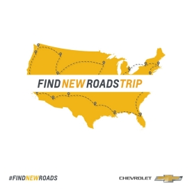 chevrolet find new roads logo. chevrolet is hitting the highways and byways of america this fall in allnew find new roads logo h