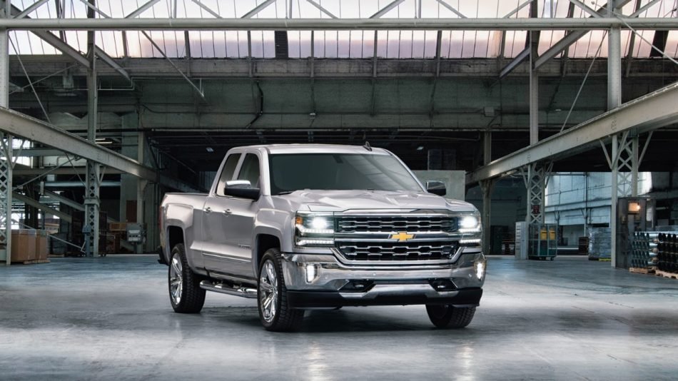 Chevrolet Demonstrates Compeive Advantage Of Silverado S Roll Formed High Strength Steel Bed