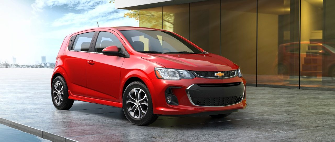 Chevrolet Introduces 2017 Sonic