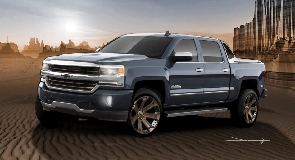 Silverado 1500 High Desert Offers Flexible Storage Options