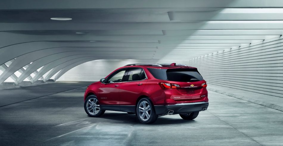 Turbocharged 2018 Chevrolet Equinox Offers Choices
