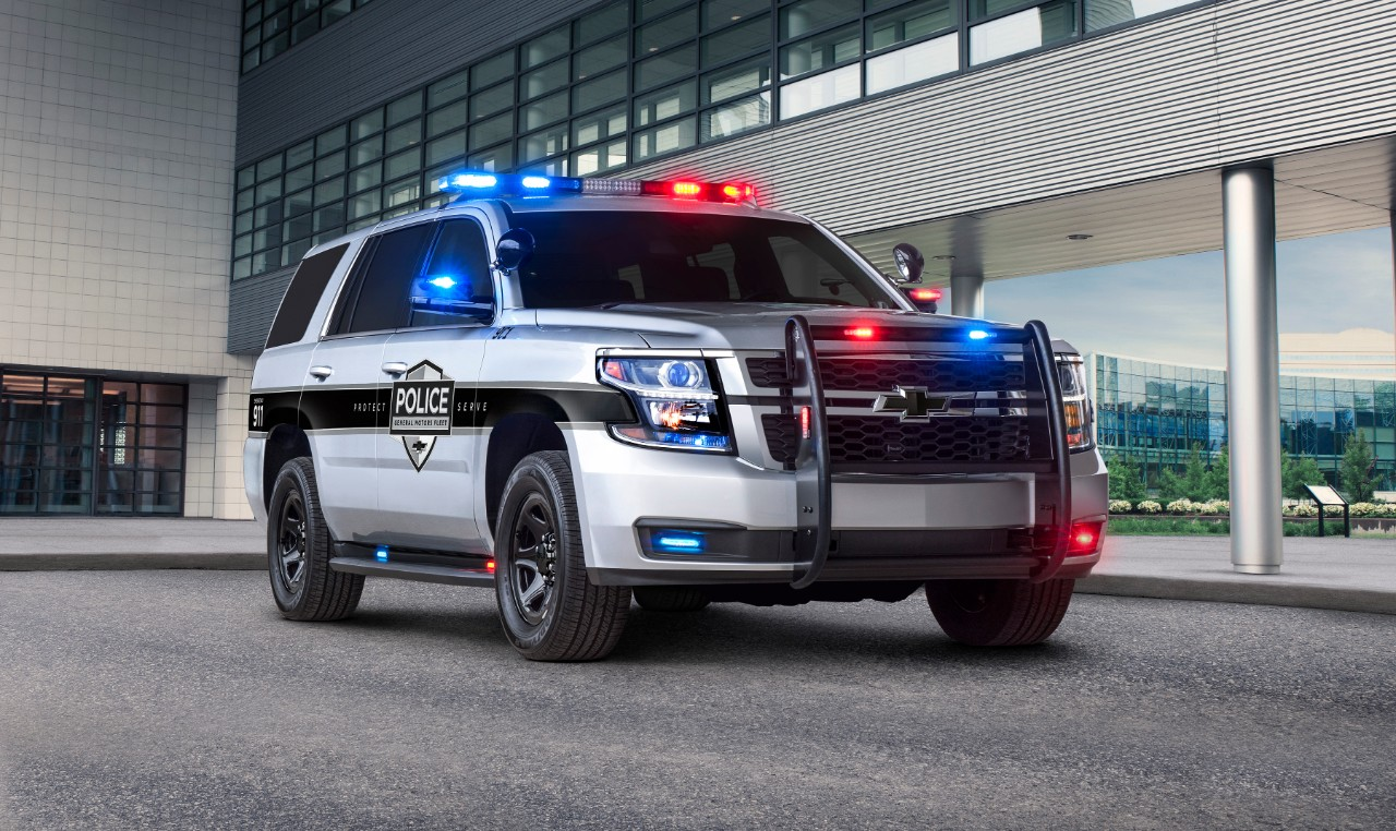 Protecting Our Protectors 2018 Chevrolet Tahoe Ppv Features First