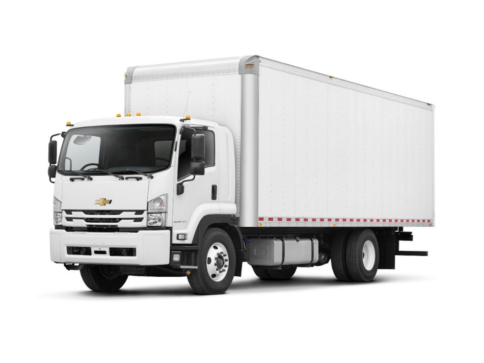 Chevrolet expands its low cab forward range with a new class 6 truck sciox Images