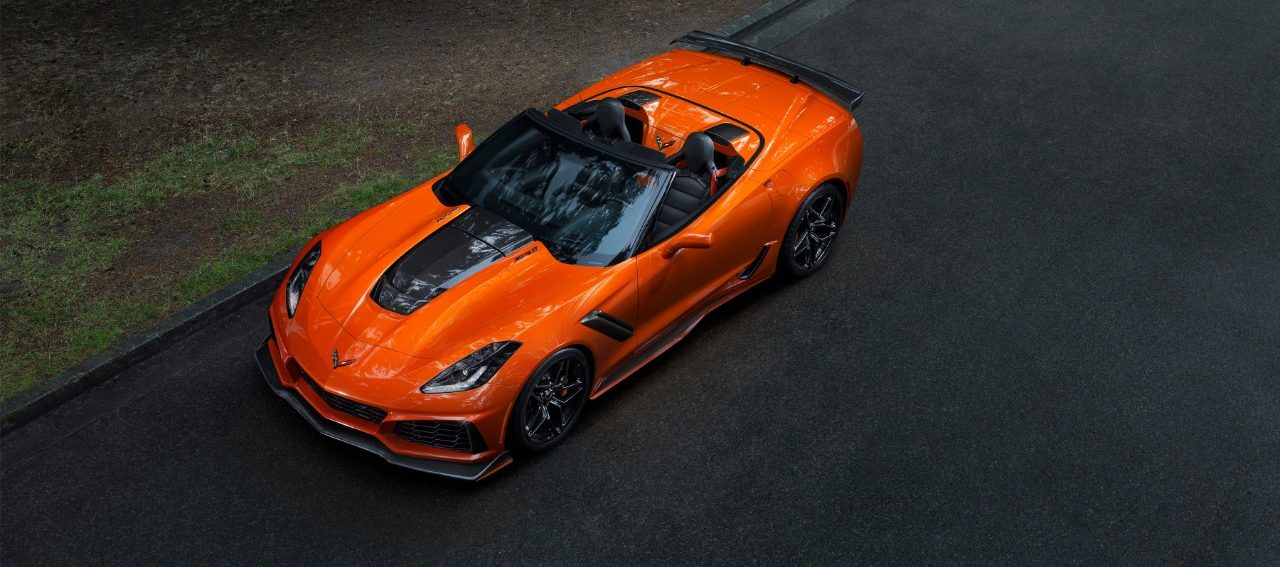 First Modern-Era Corvette ZR1 Convertible Makes Debut