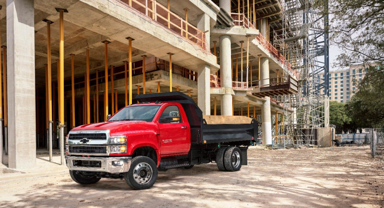 Chevrolet Unveils The 2019 Silverado 4500hd 5500hd And 6500hd At