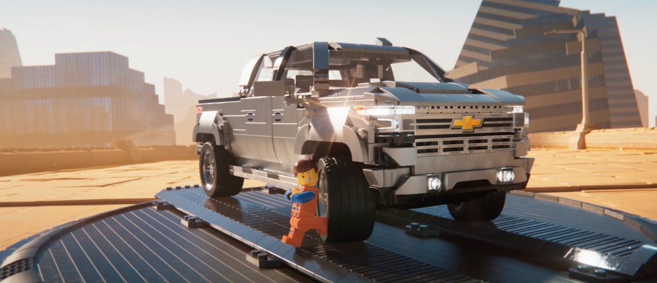 Build A Chevy Truck >> New Chevrolet Campaign Features Emmet And Lucy From The Lego Movie