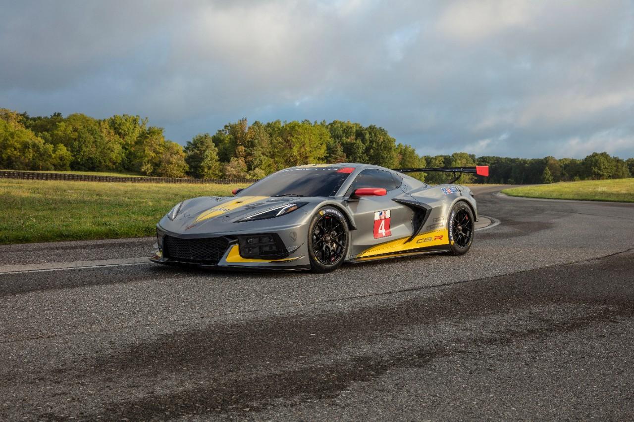 Chevrolet Debuts Mid Engine C8 R For Next Racing Season