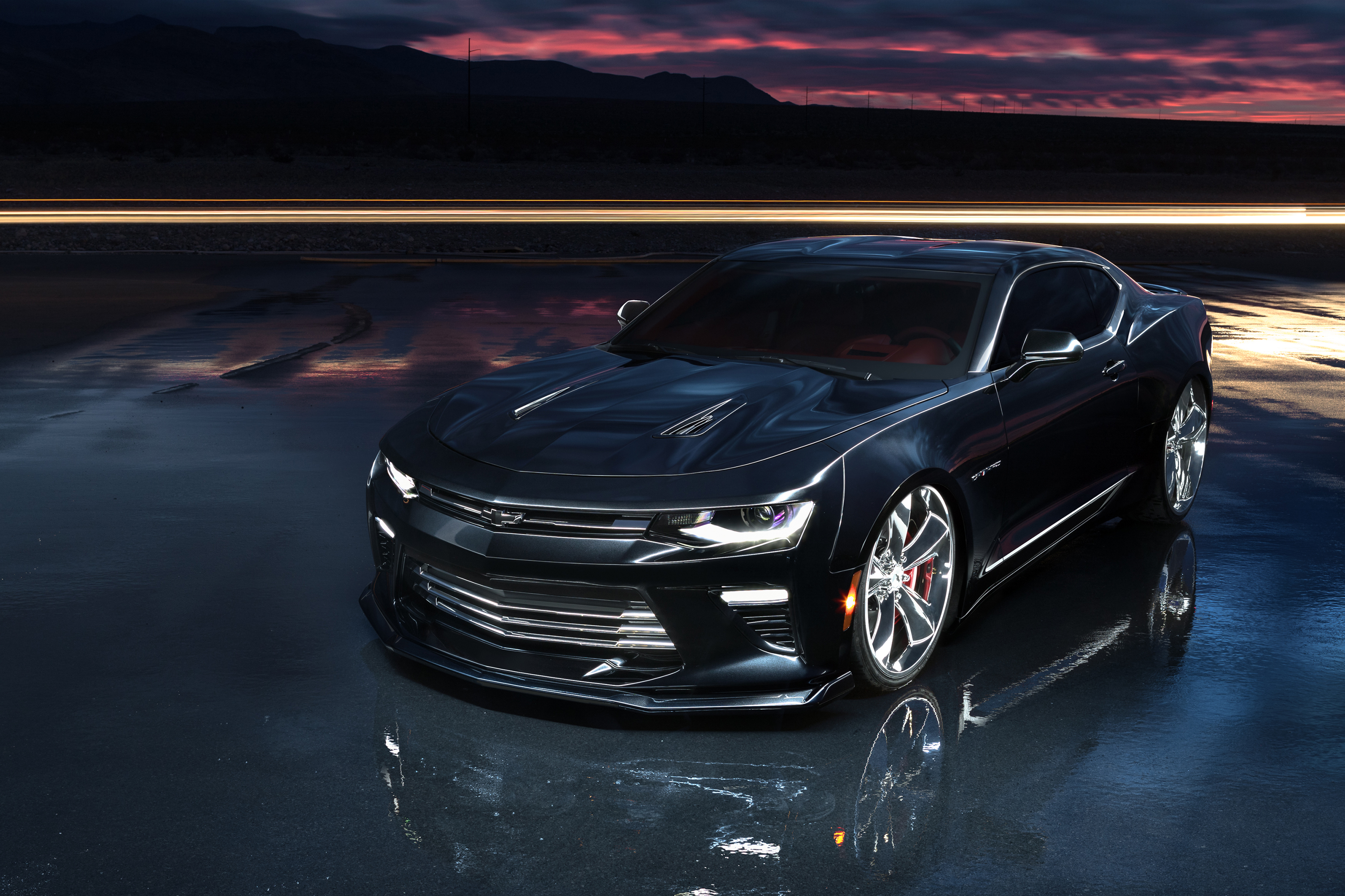 2017 Camaro SS Slammer Concept Is all About Stance