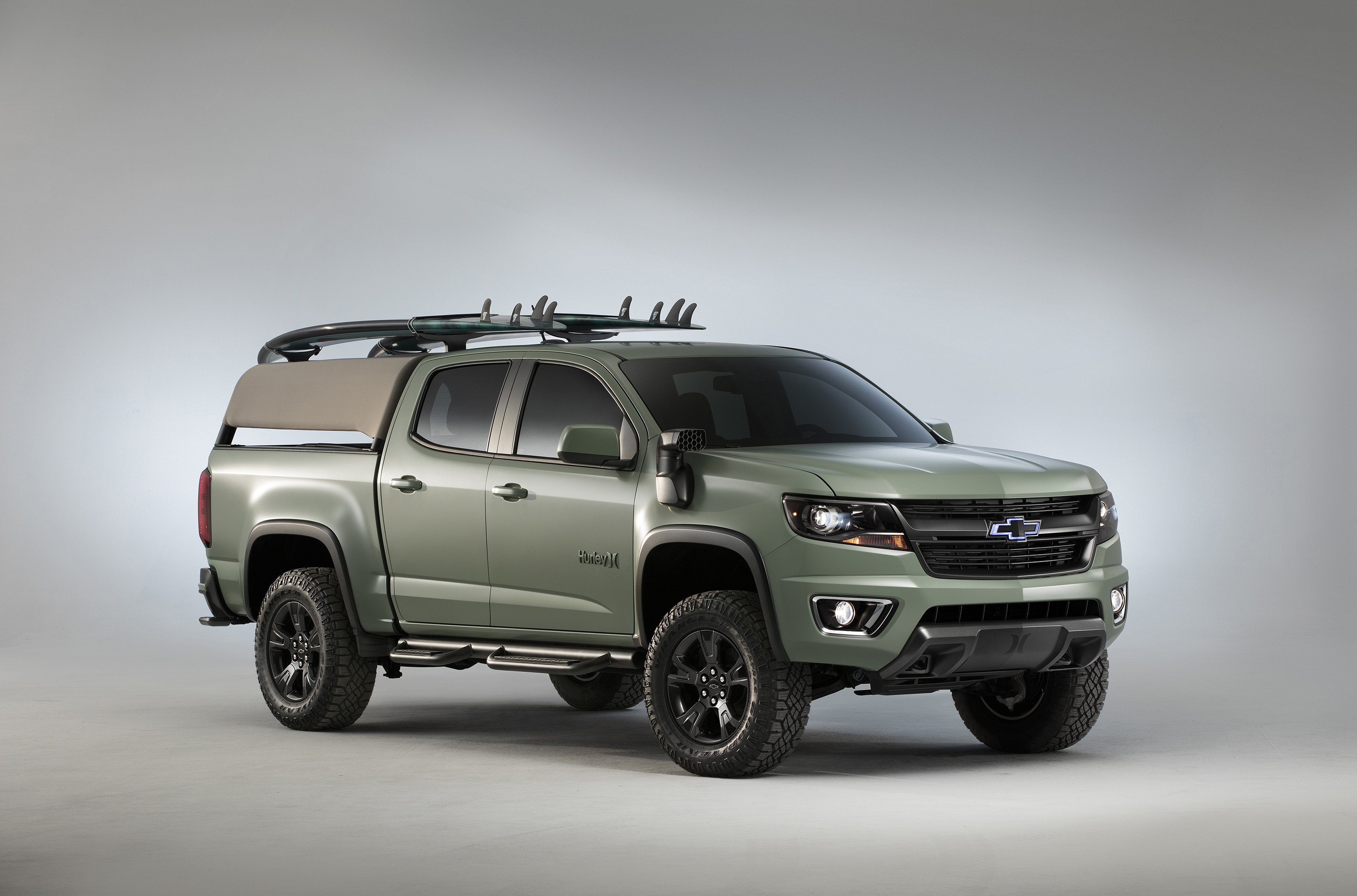 Chevy Colorado Accessories >> Colorado Z71 And Hurley Take Functionality To The Beach
