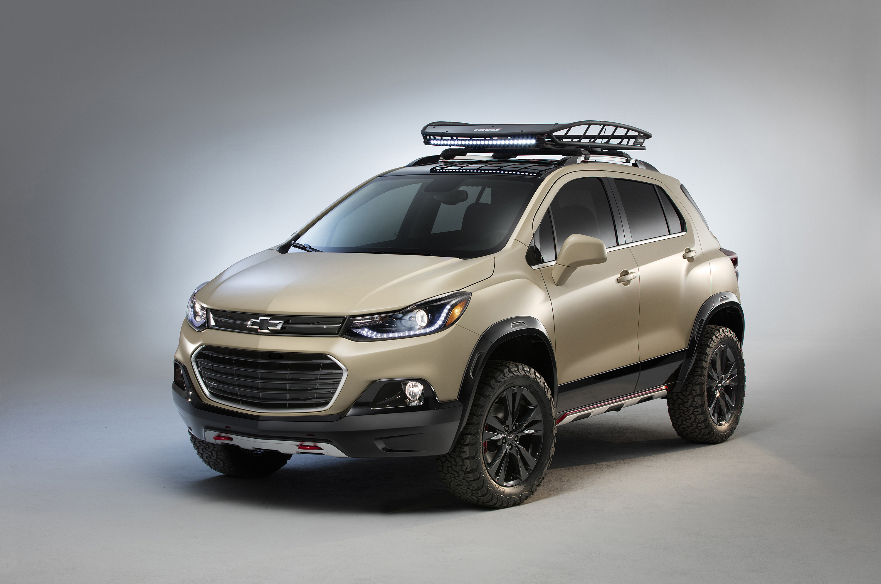 Chevrolet Trax Activ Concept Is Ready for Adventure