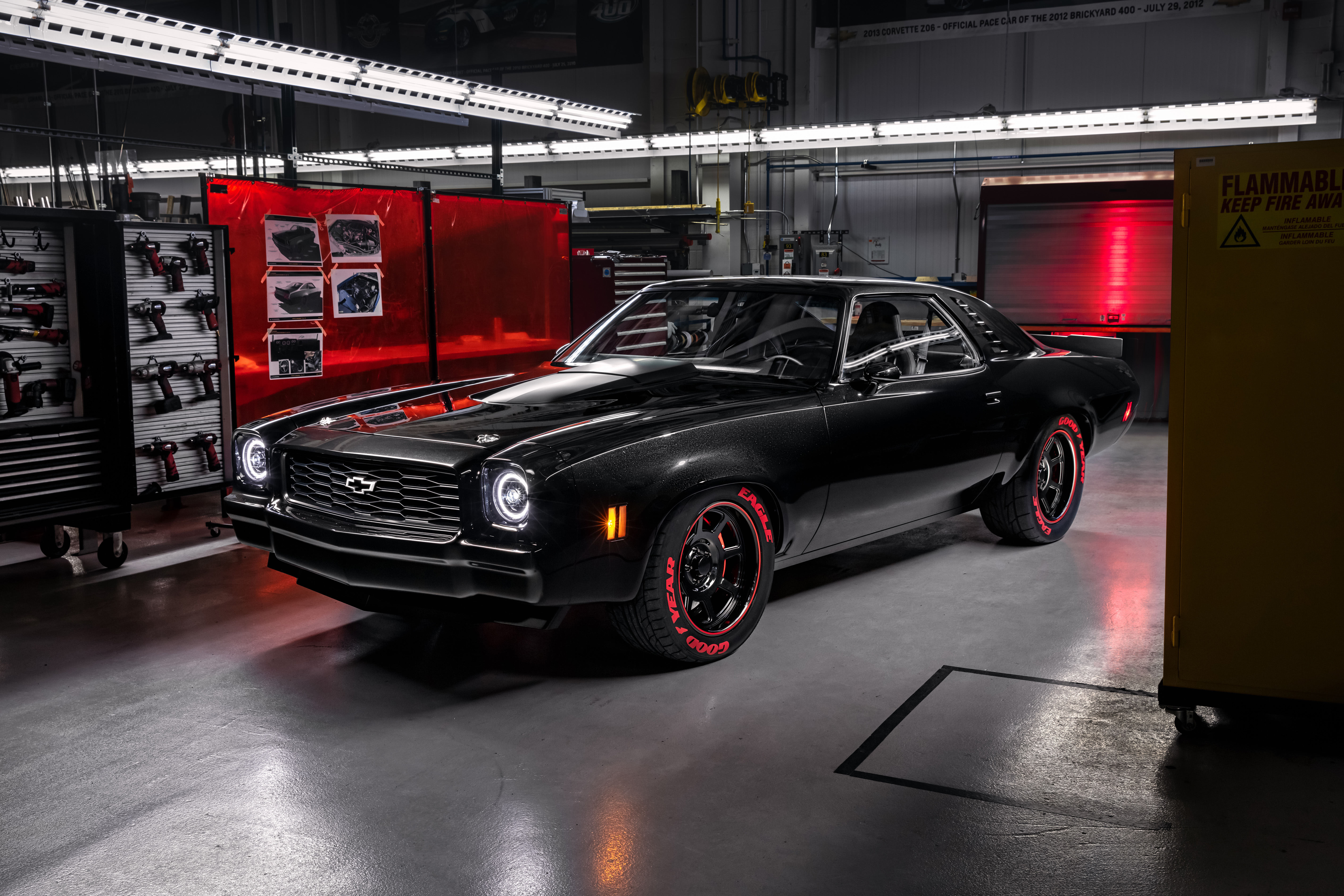 Chevrolet S New Crate Engines Showcased In Vintage Concepts