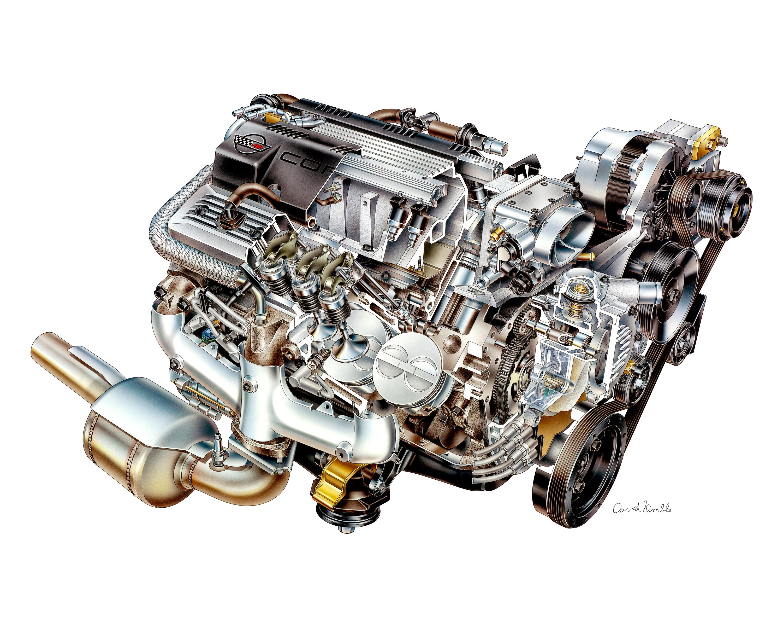 New Gen 5 Corvette Engine