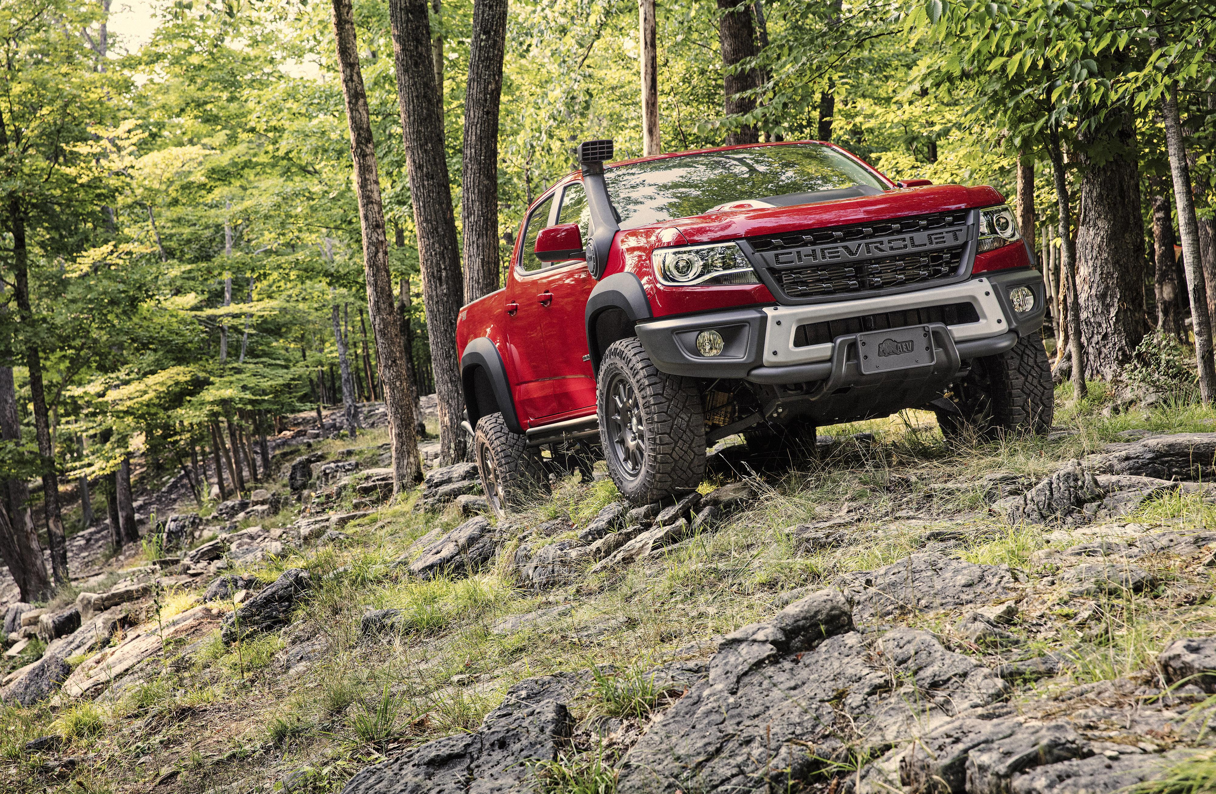 Chevrolet Unveils The Colorado Zr2 Bison