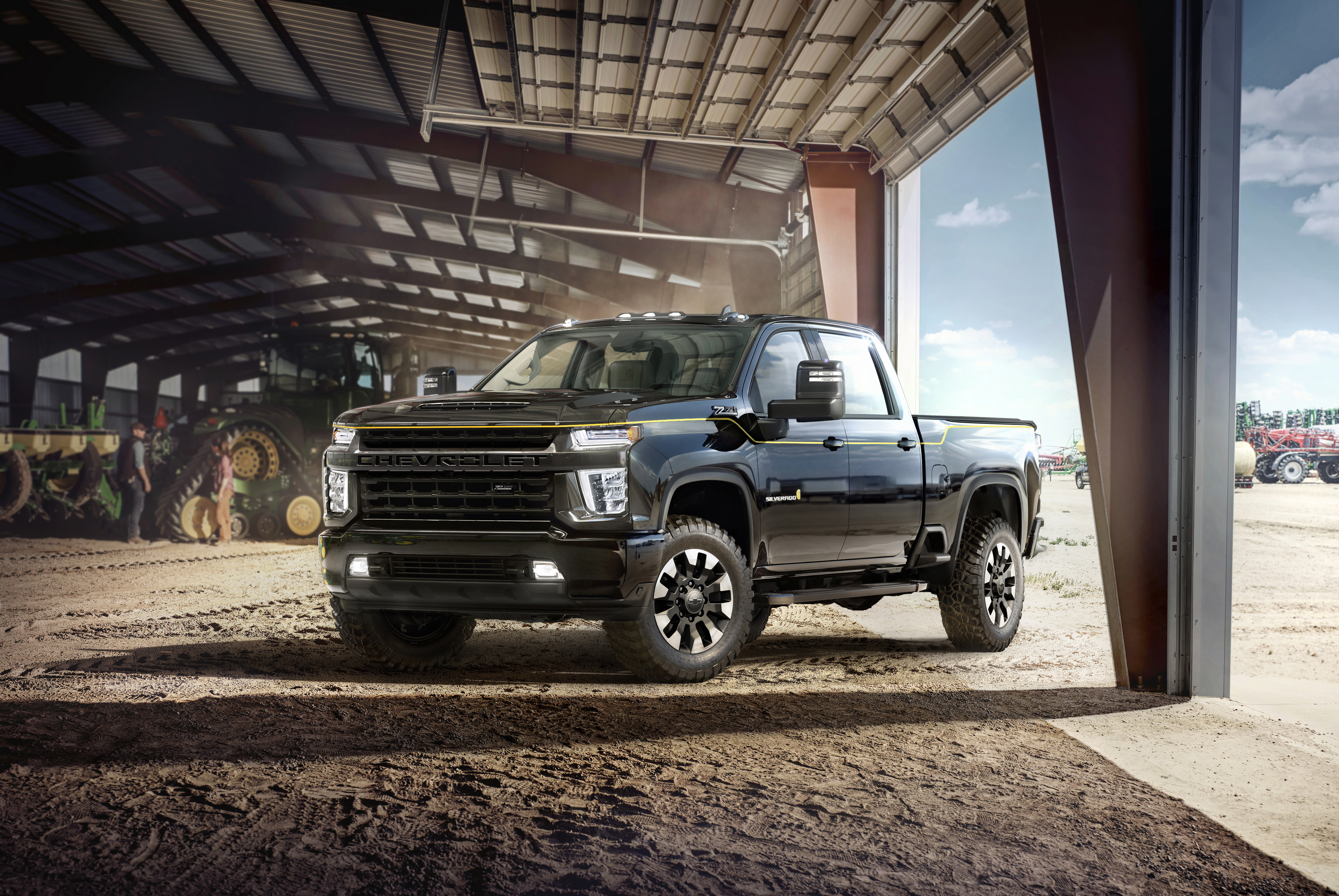 Chevrolet Introduces 2021 Silverado Hd Carhartt Special Edition