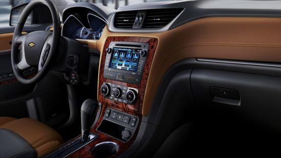 Interior. 2015 Chevrolet Traverse For Lease Near Waukesha, Wisconsin