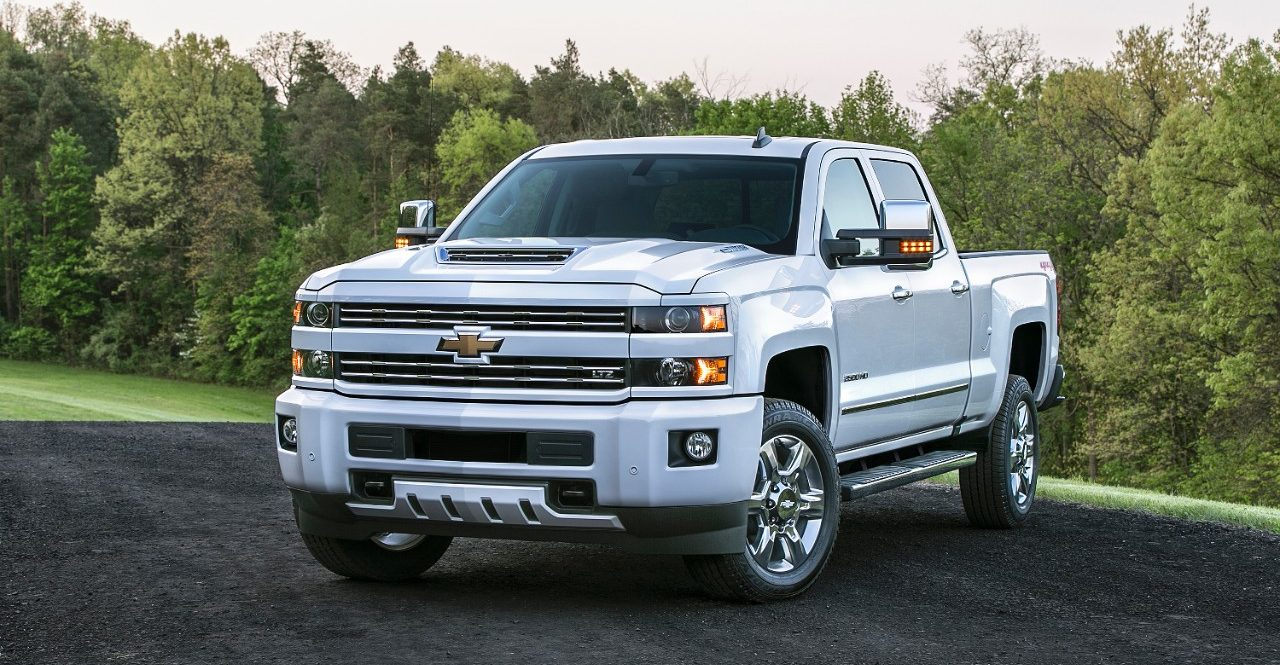 The 2017 Chevrolet Silverado HD features an all-new, patented air intake  system.