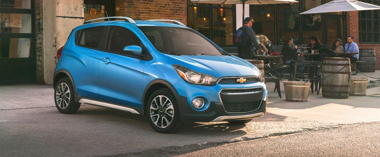 The 2017 Chevrolet Spark Activ Is A Sportier Take On Brand S Versatile Connected Mini