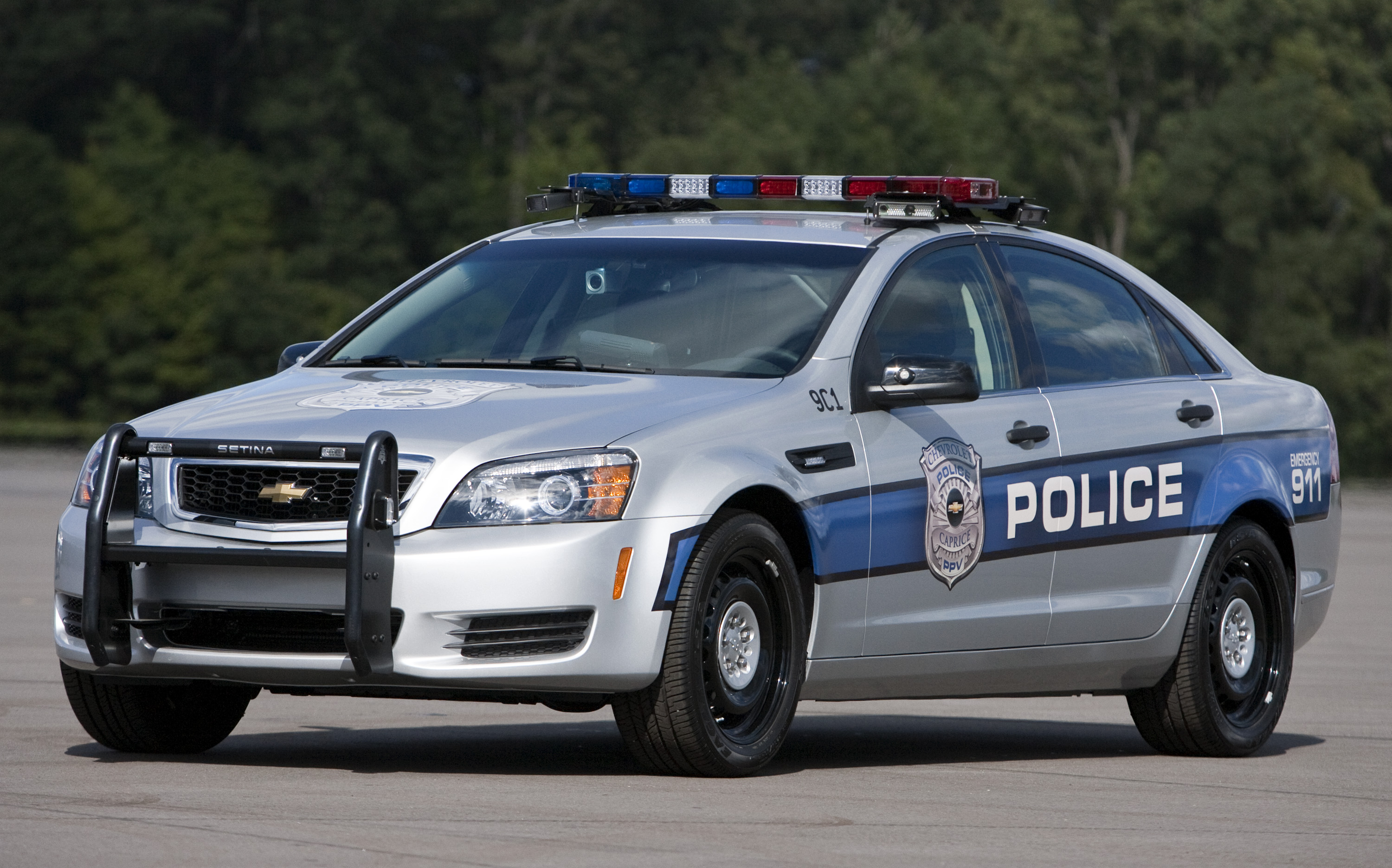 Chevrolet Trio Lead At Michigan State Police Tests
