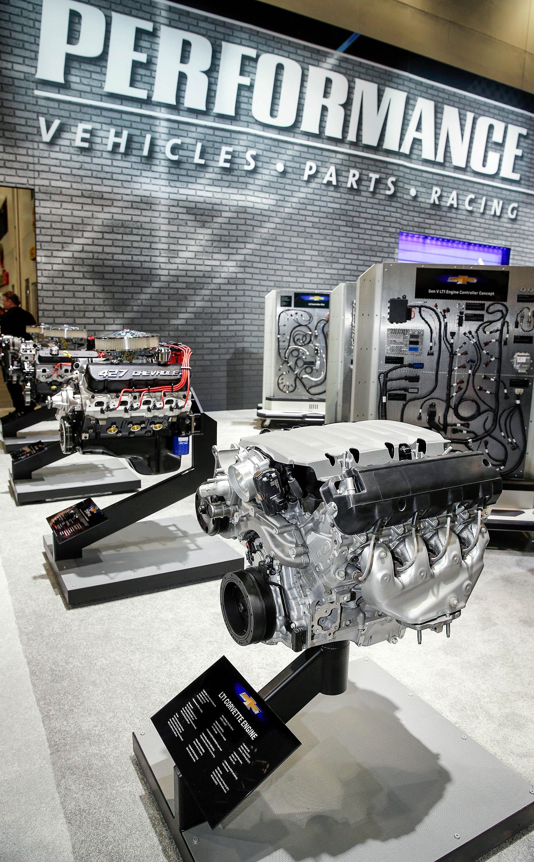 460-HP Gen 5 LT1 Crate Engine Concept Bows at SEMA