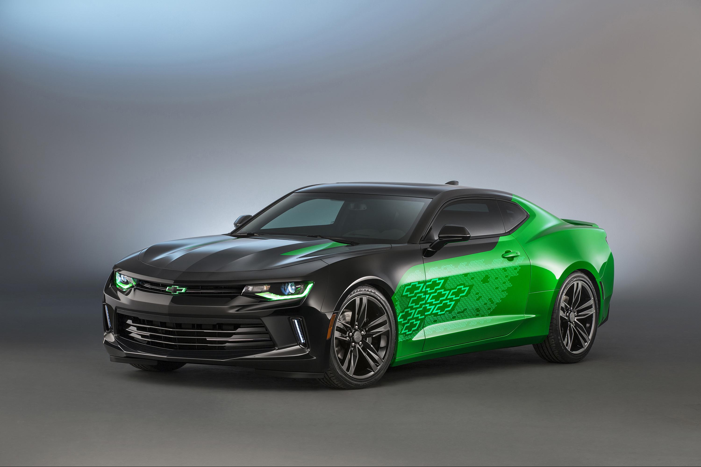 Gen Six Camaro Concepts Shine at SEMA Show