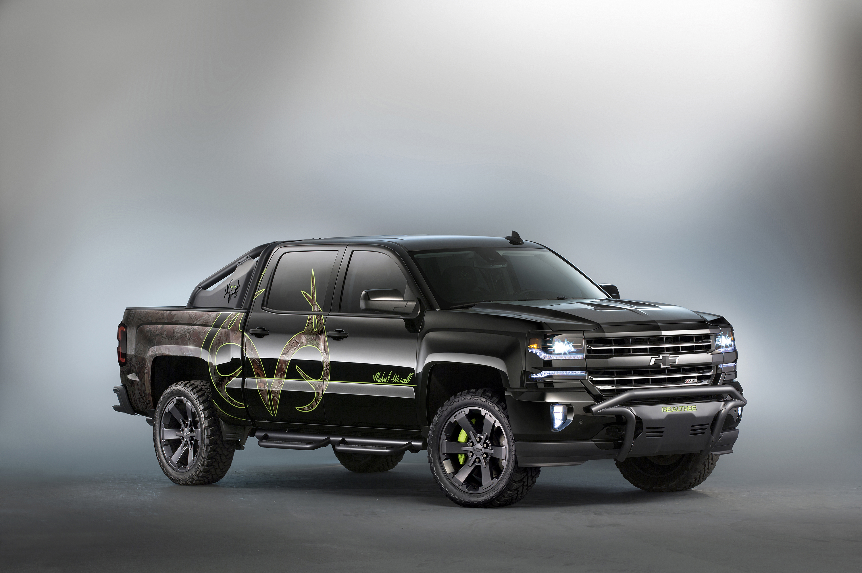 Chevy realtree concept truck