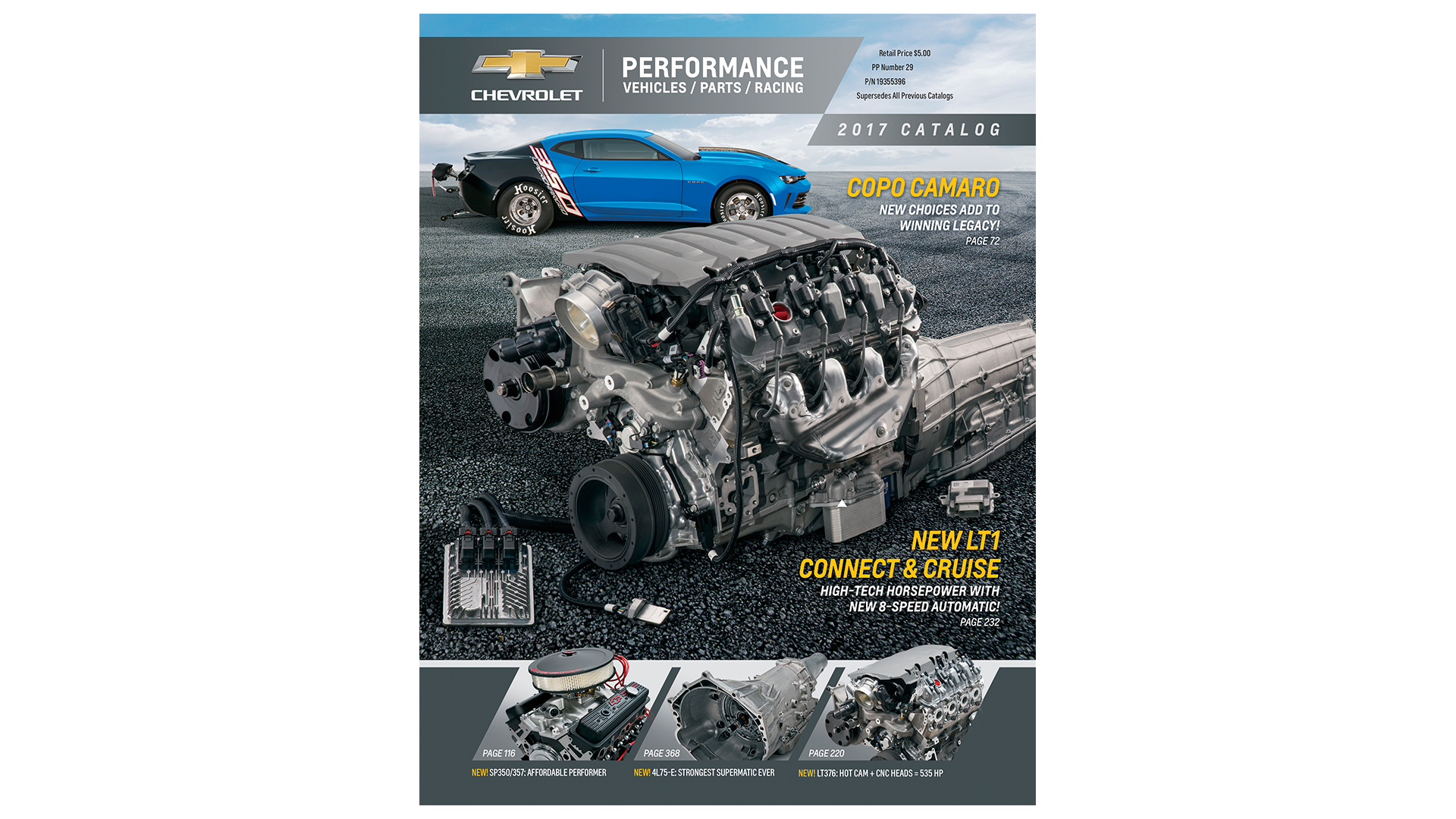 Chevy Performance Parts >> Chevrolet Introduces 2017 Performance Parts Catalog
