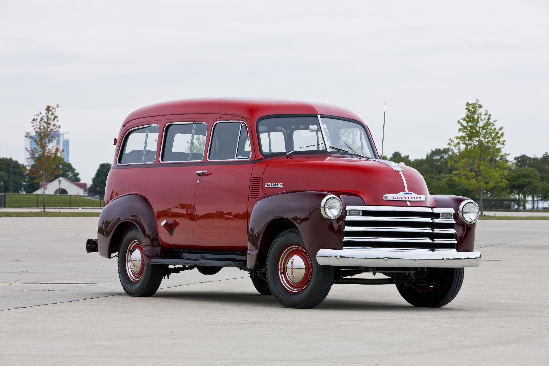 Chevrolet Pressroom United States Images 1951 Pickup Truck