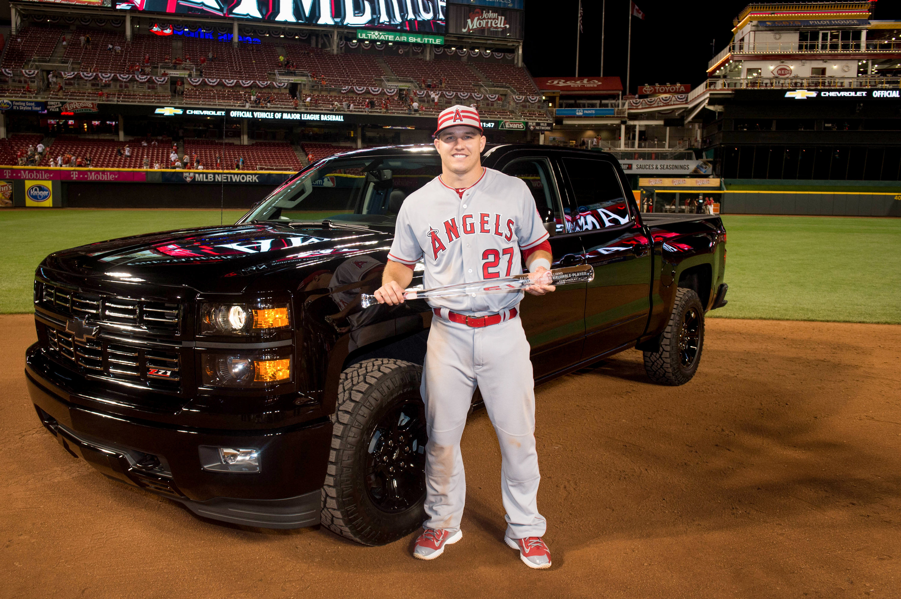 Chevrolet Presents Silverado Midnight Edition to All-Star Game MVP Mike  Trout