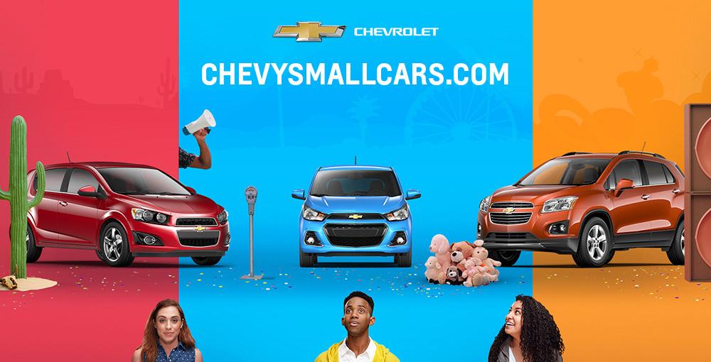 Chevrolet Launches New Small Car Initiatives on subaru website, toyota website, jaguar website, polaris website, honda website, volkswagen website, land rover website, jeep website, aston martin website, ford website, dodge website, porsche website, kia website, cadillac website, john deere website, bmw website, gmc website, nissan website, lexus website, tesla website,