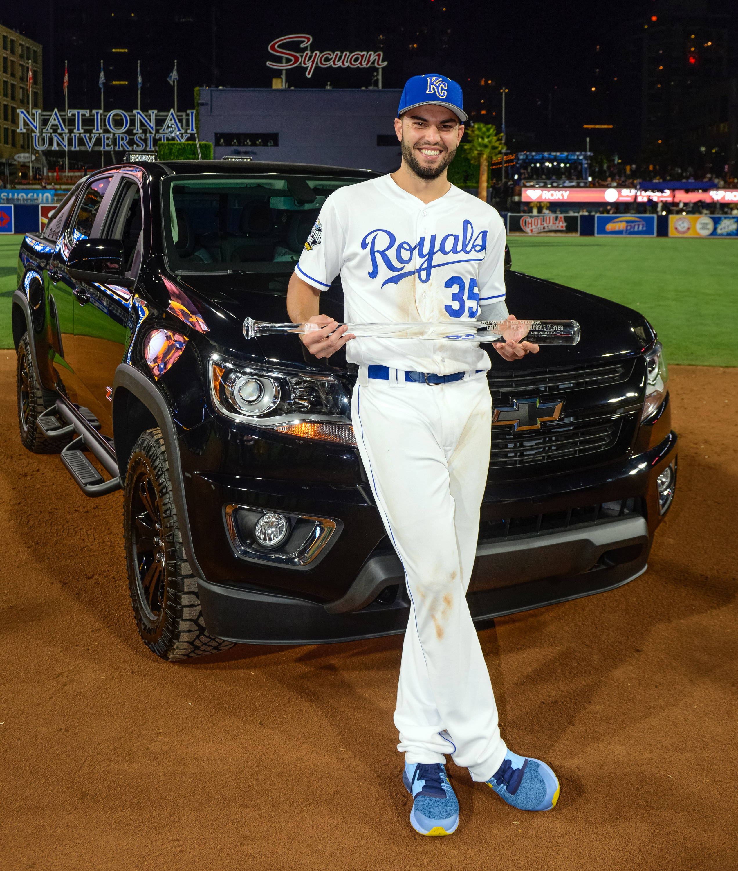 Chevrolet Presents Colorado Diesel Midnight Edition to All Star Game