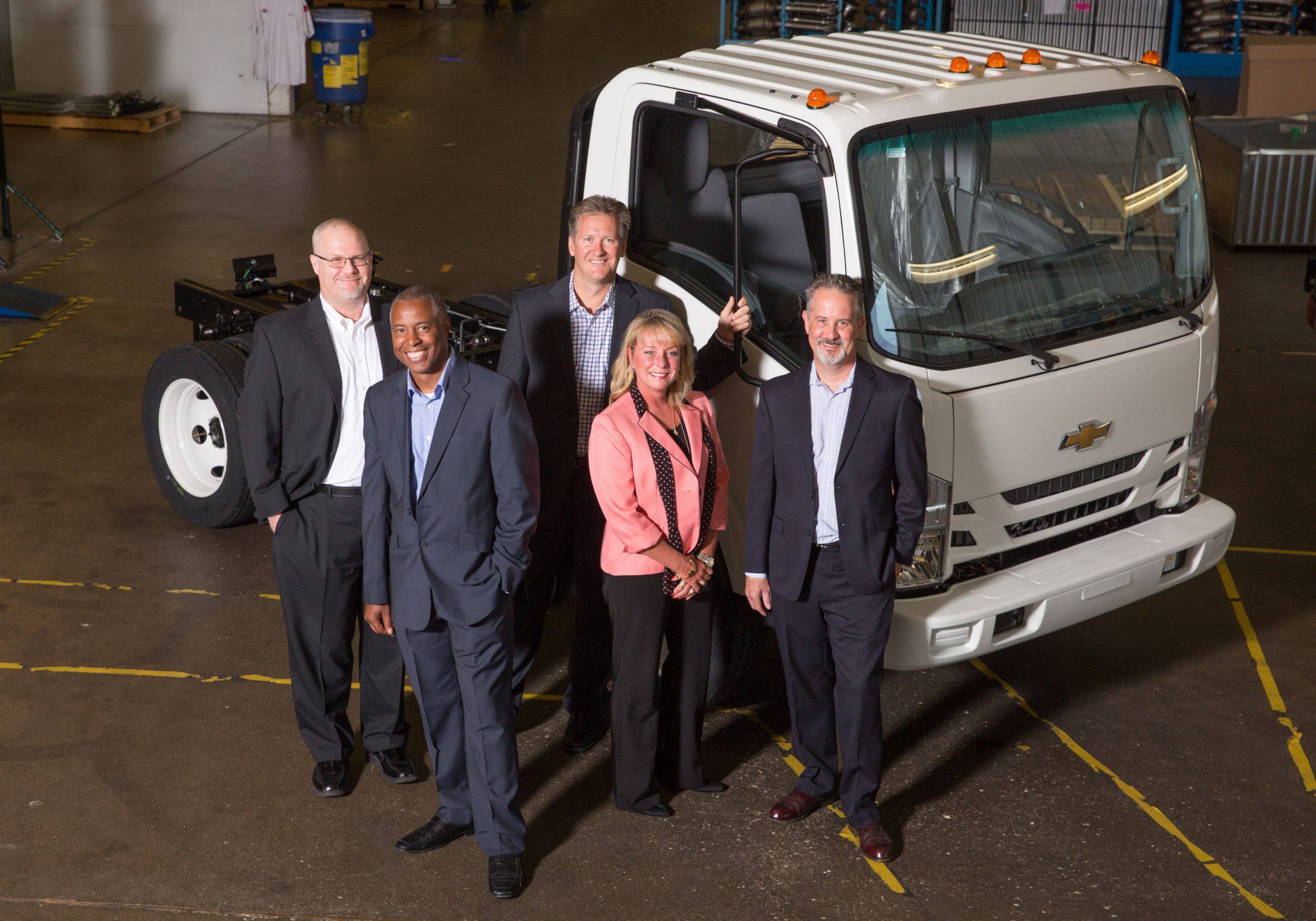 Chevrolets new low cab forward trucks heading to dealers nationwide sciox Gallery