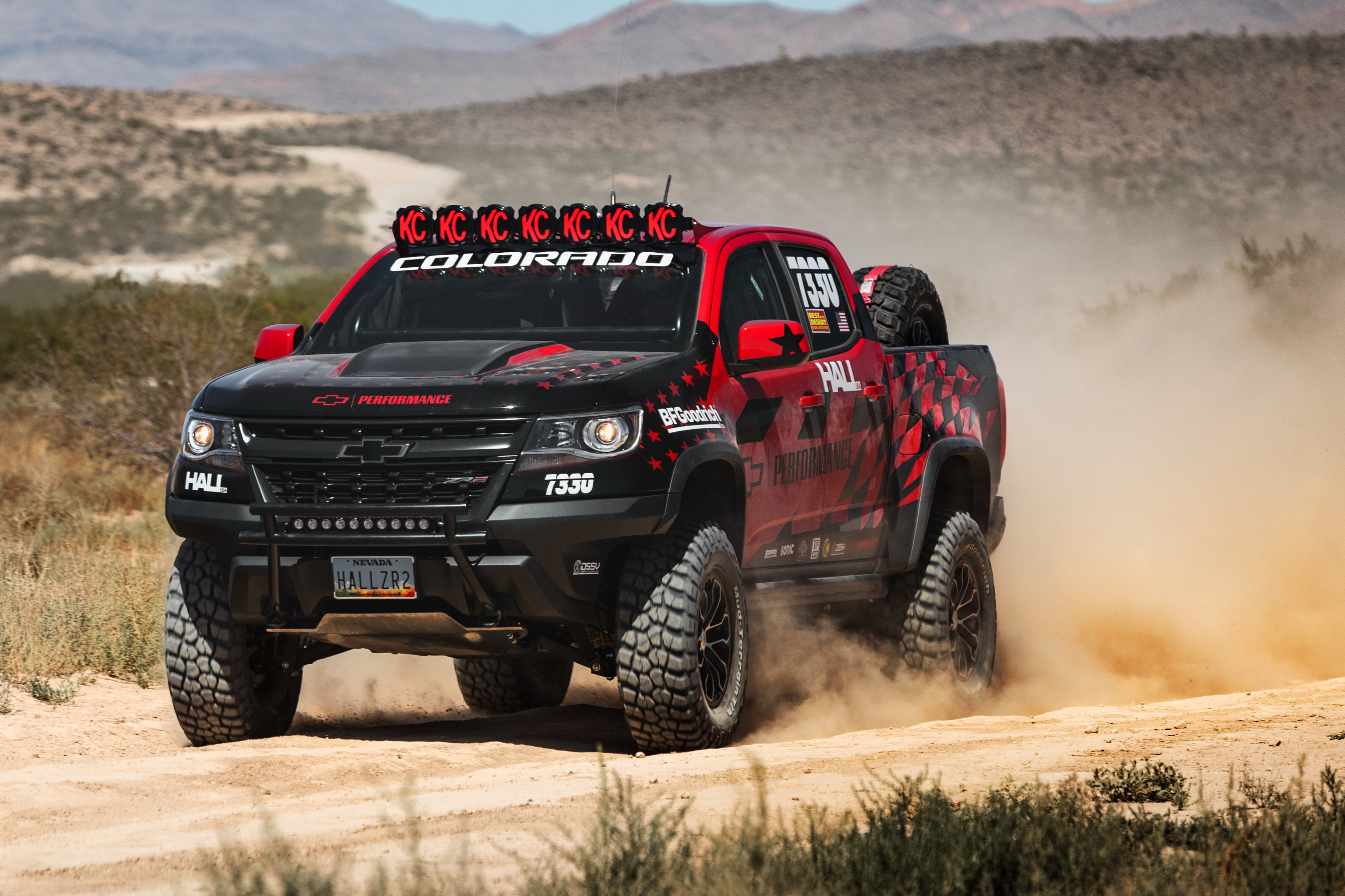 Colorado zr2 makes competition debut in america s longest off road race
