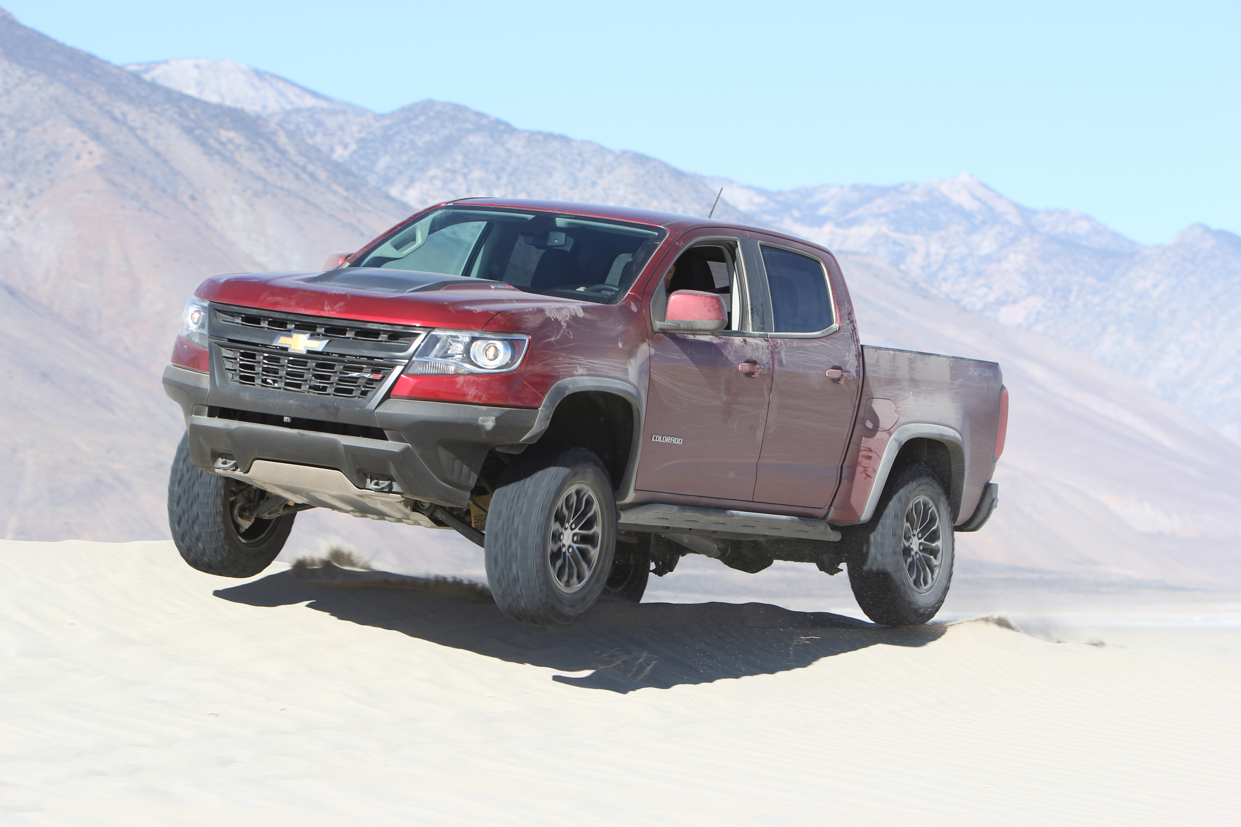 Chevrolet Colorado ZR2 is FOUR WHEELER\'S 2018 Pickup Truck of the Year