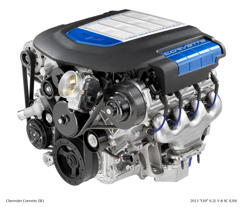 Small-Block V-8 is the Heart of Chevrolet Corvette
