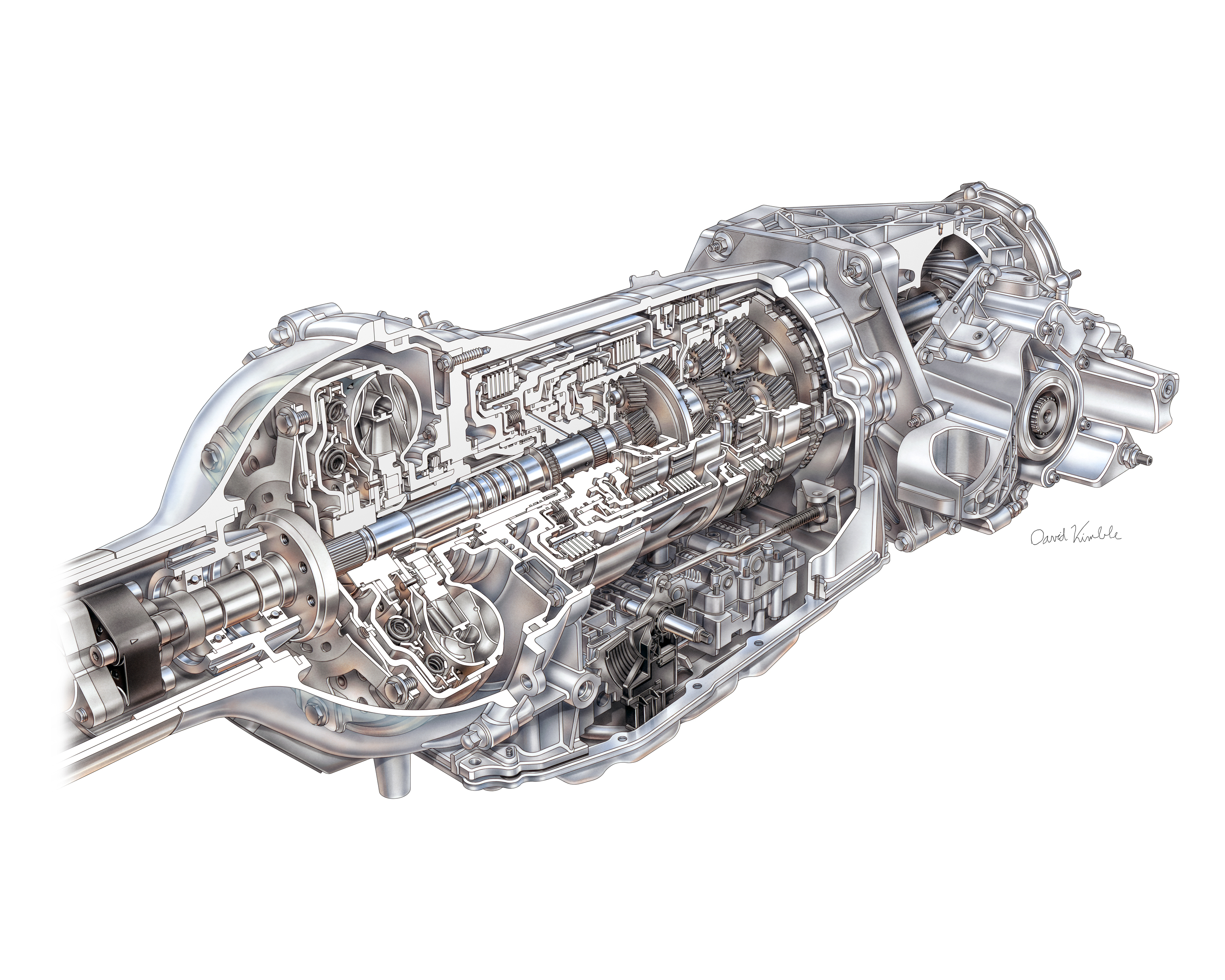 New 8 Speed Enables Quicker More Efficient Corvette