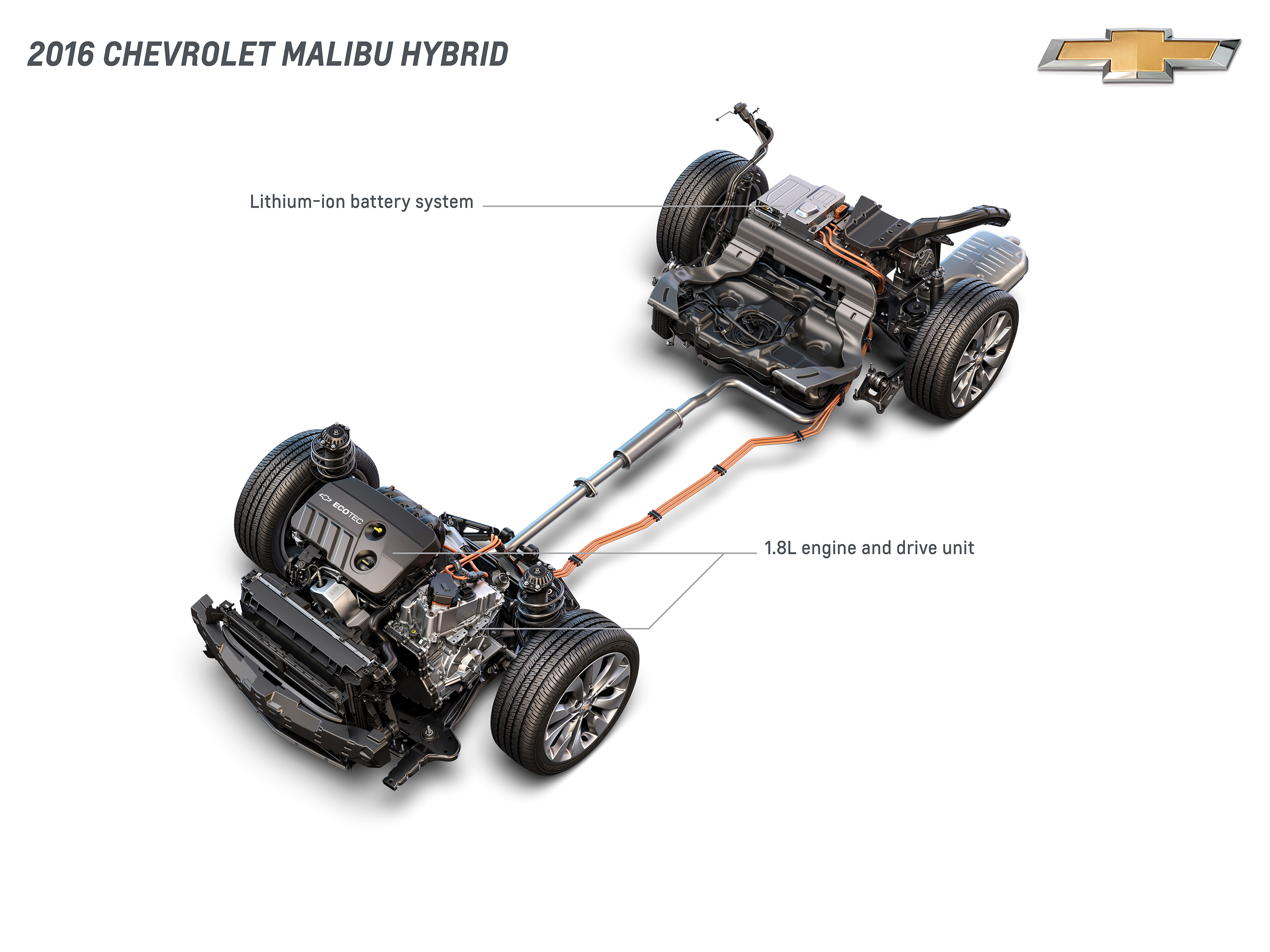 chevrolet bu hybrid derives technology from volt