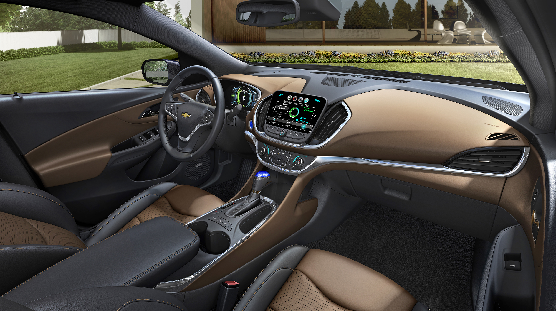 2016 Chevrolet Volt Interior Makes Ev Driving Personal