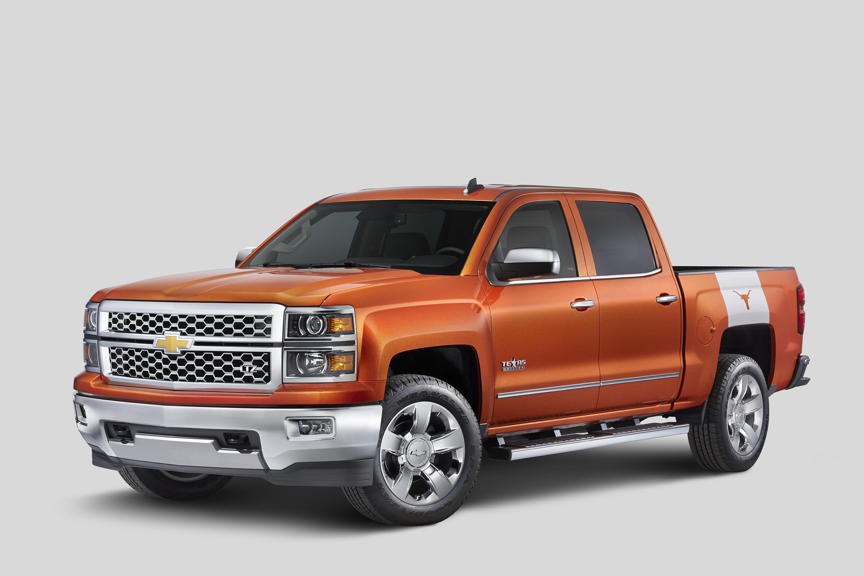 Chevrolet Announces Silverado University of Texas Edition