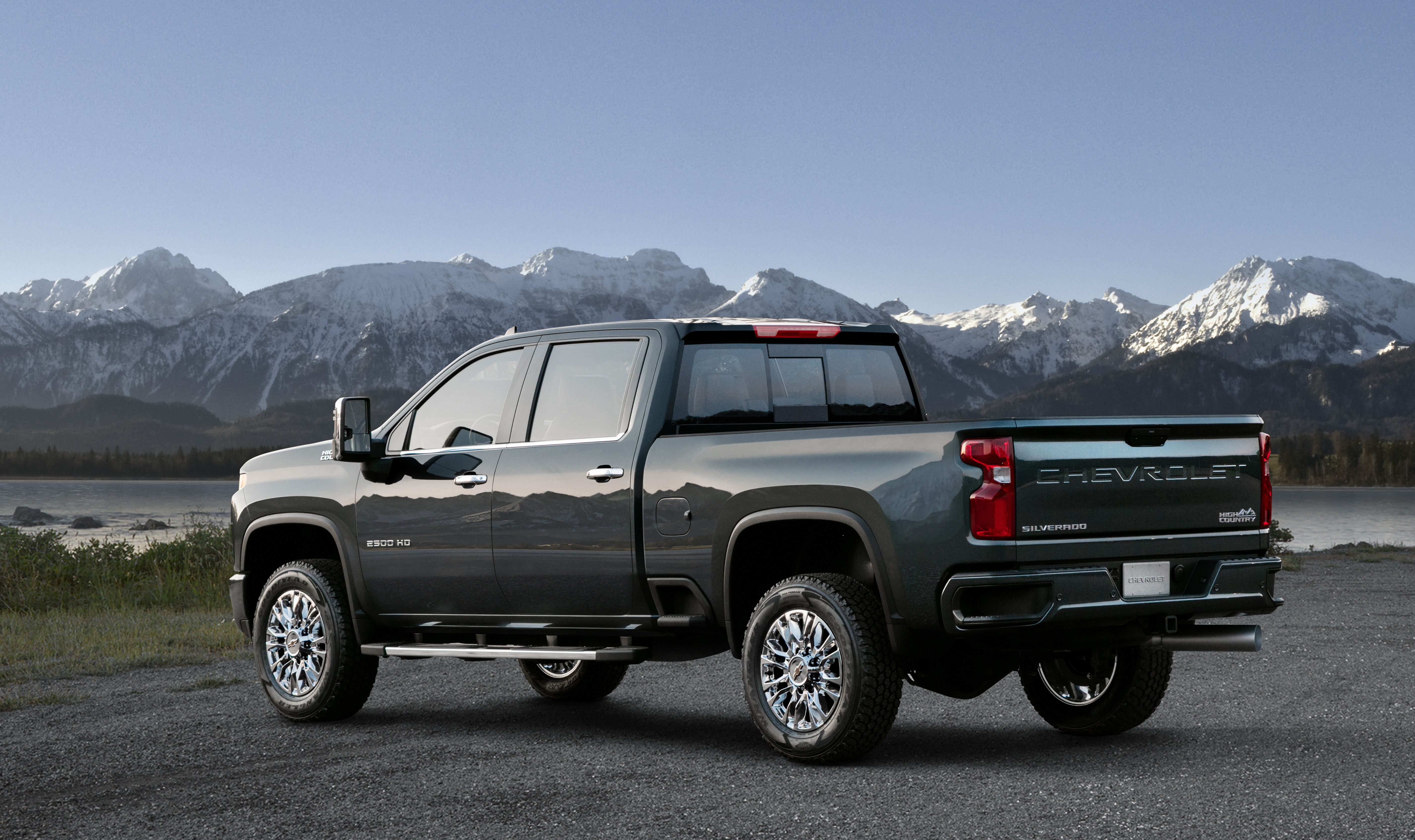 Chevrolet Reveals 2020 Silverado Hd High Country Second Of Five