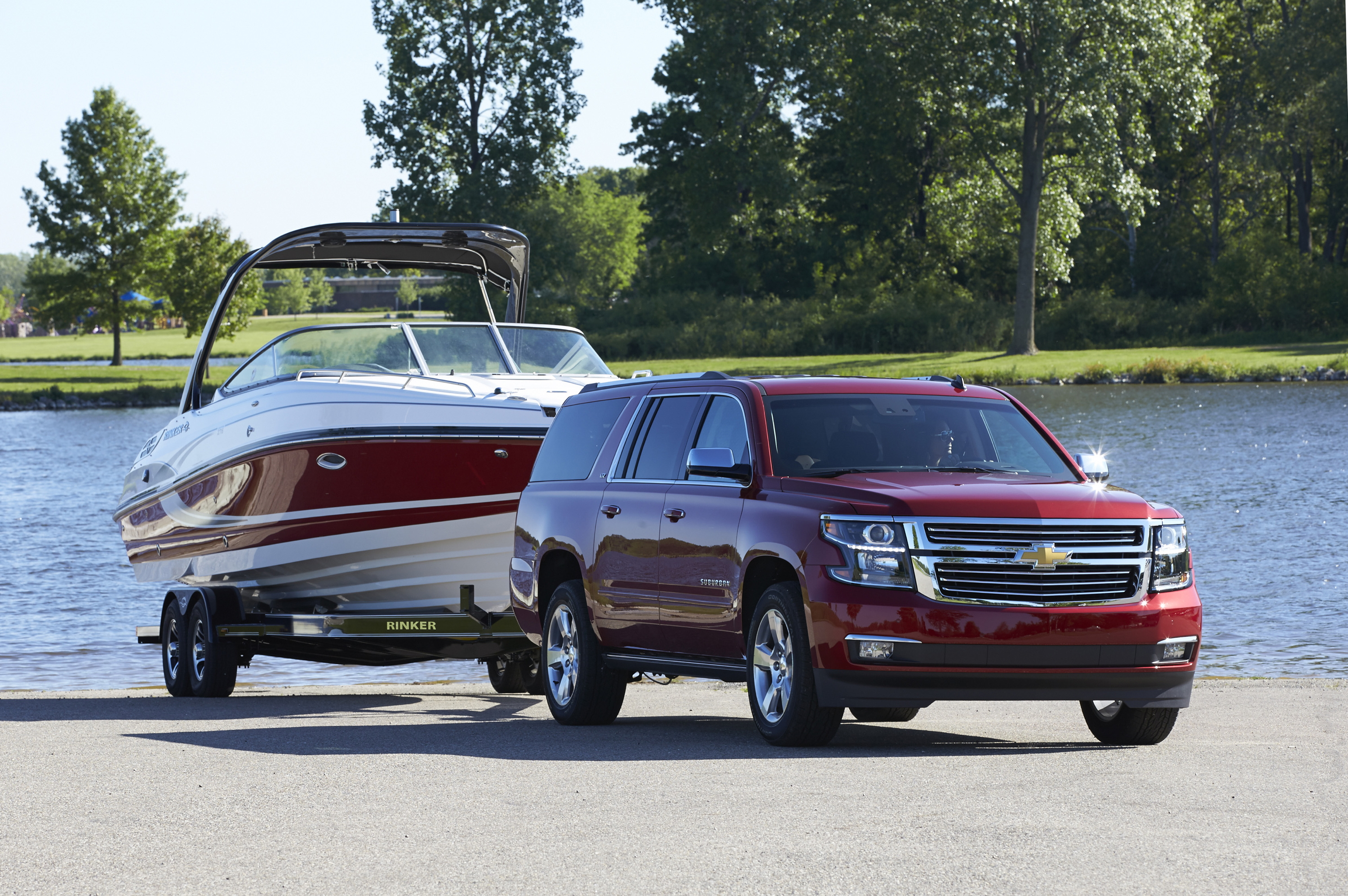 Suburban Offers Every Comfort for Vacation Cruising