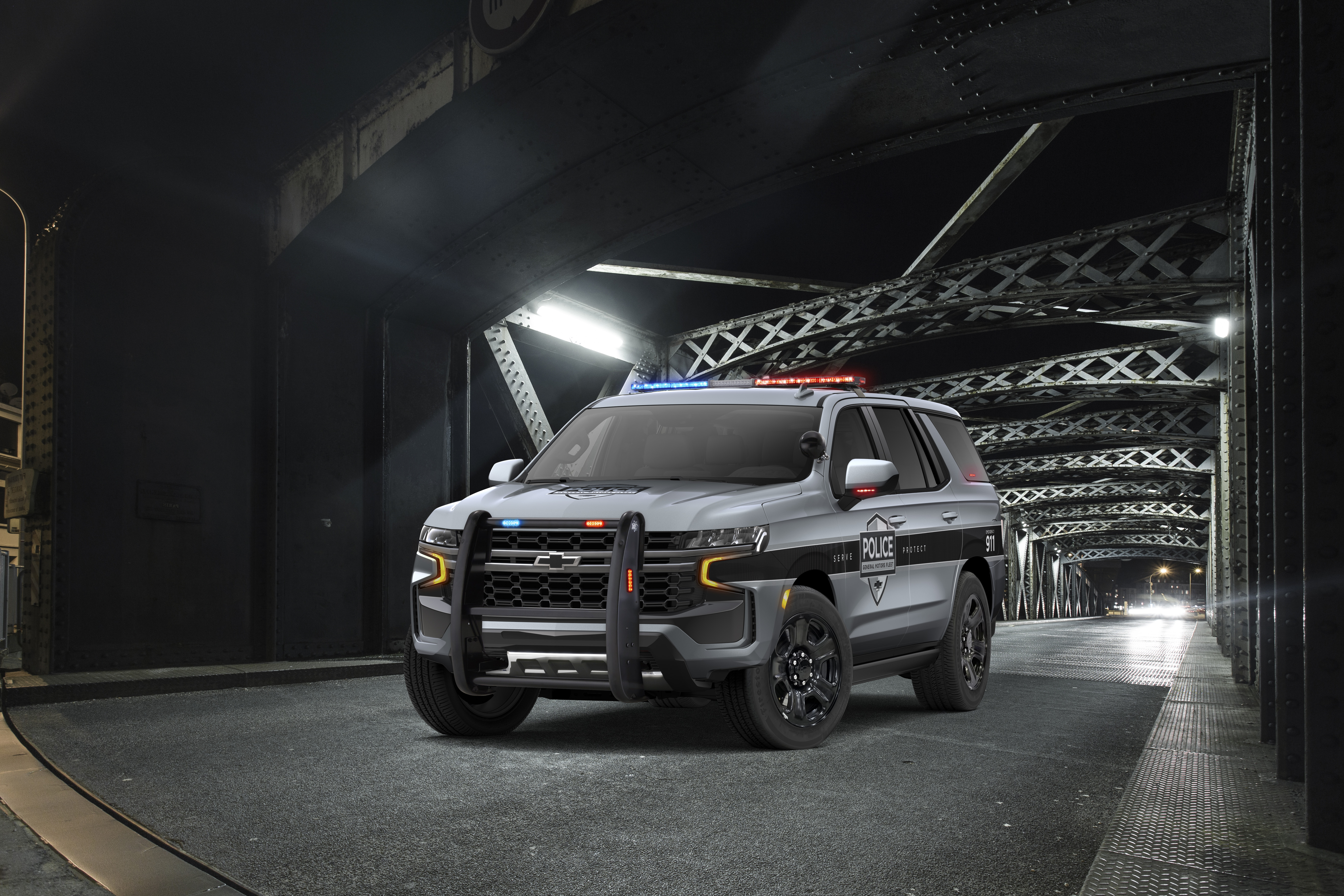 2021 Chevrolet Tahoe Suits Up For DutyChevrolet Pressroom