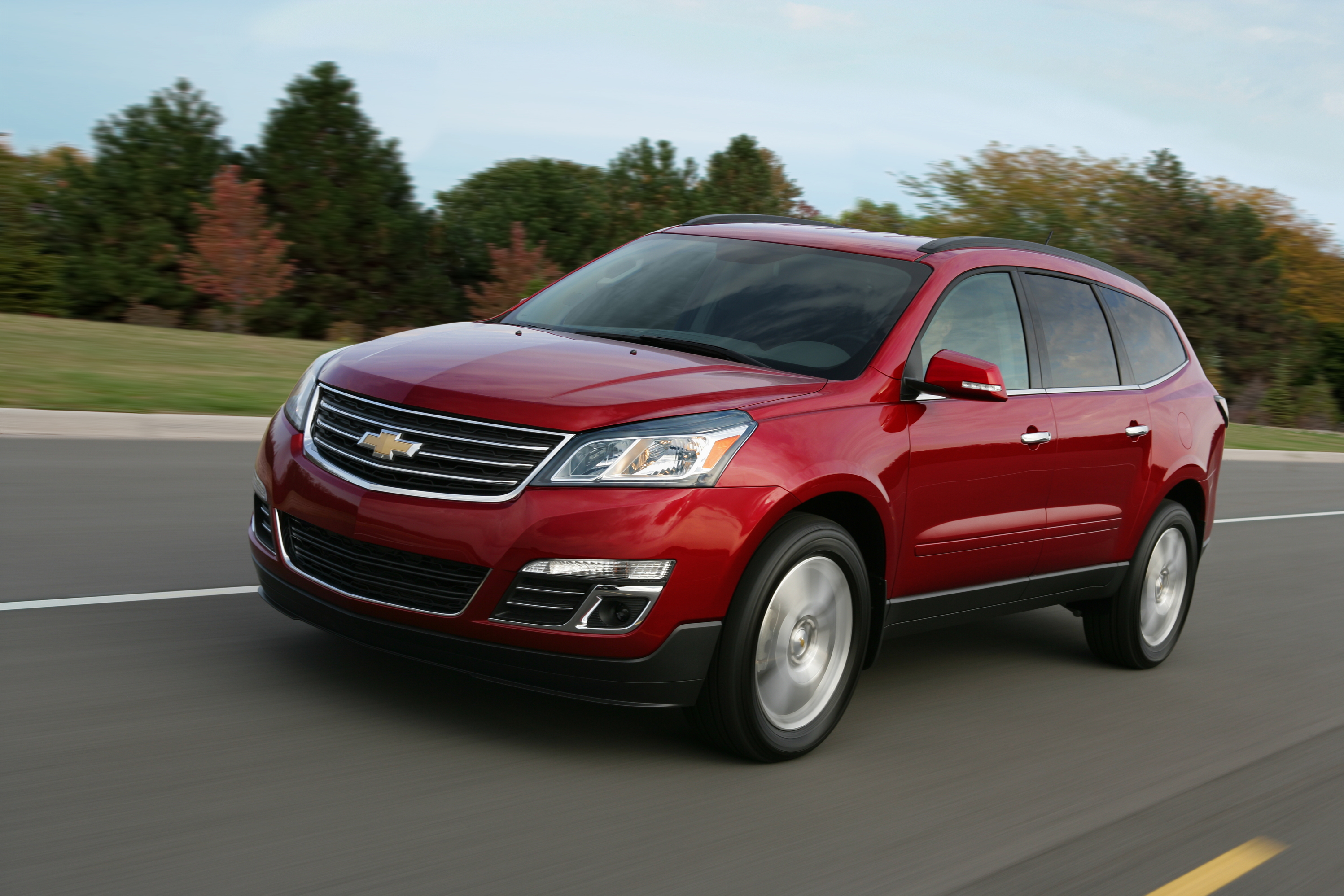 Chevrolet Pressroom United States Traverse