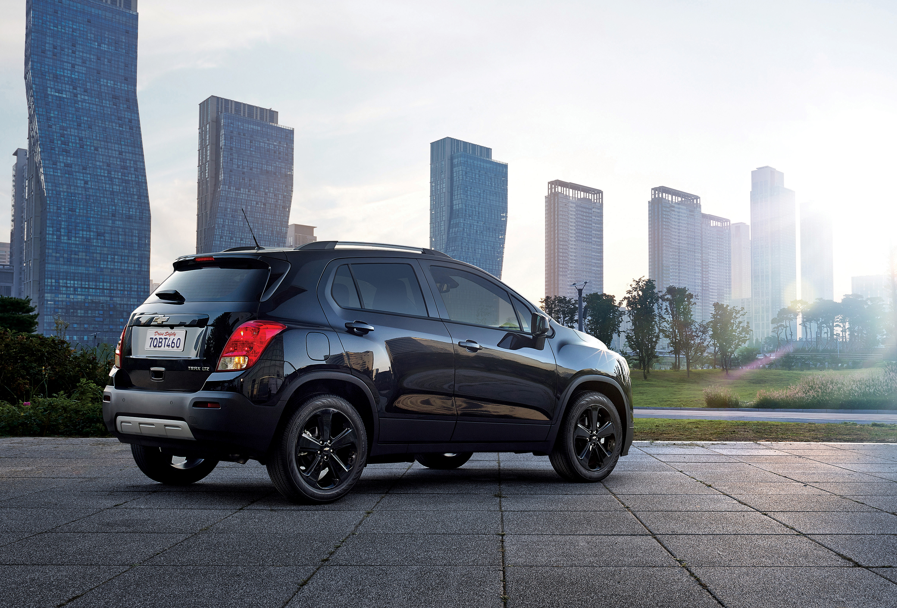 chevrolet trax crosses to the dark side