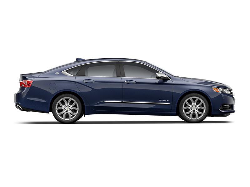 2016 chevrolet impala dimensions